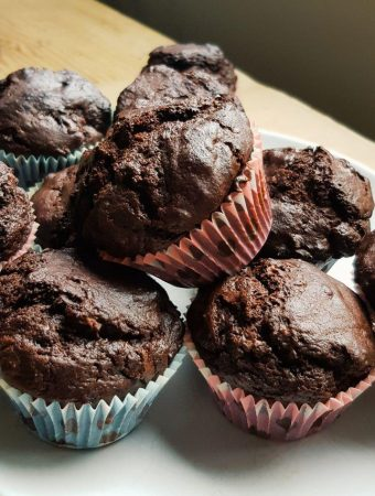 Banana Double Chocolate Muffins Recipe